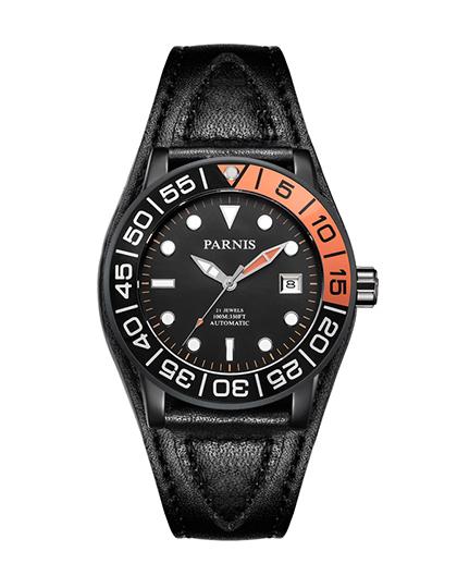 PA6056-D全自动机械防水夜光水鬼潮流腕表